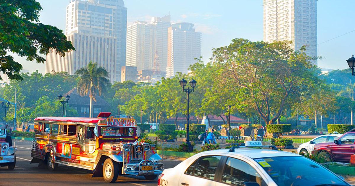 Filippinernes hovedstad, Manila. Verdens tættest befolkede by Rejse til Filippinerne med Time to travel. Vi arrangerer rejser for både solo rejsende, familier og grupper.