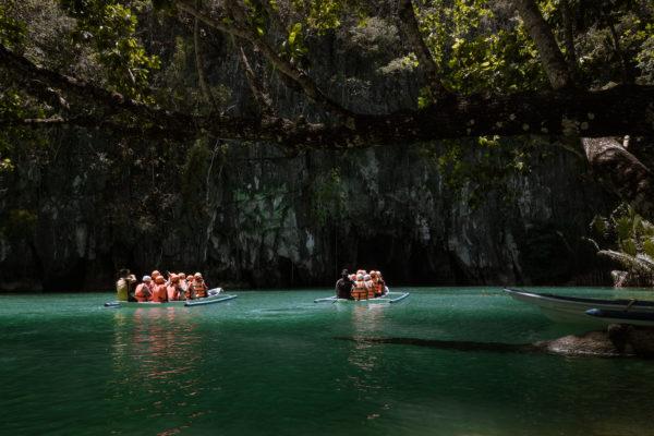 Verdens længste underjordiske flod er på Filippinerne