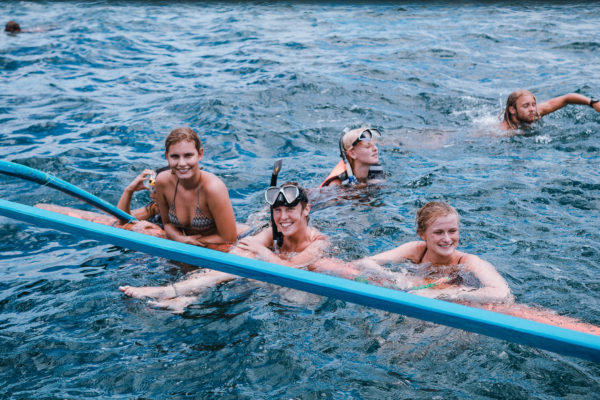snorkelture med time to travel i filippinerne