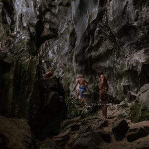 El Nido er mere end bare sand og strand. Grotter og bjerge og vild natur
